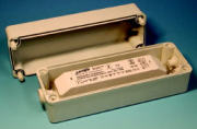 Elektronisk transformator i plastkapsling, IP65