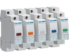 Hager LED Signallampor i 5 olika färger
