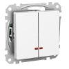 Schneider Exxact Vipptryckknapp med LED