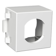 Schneider Exxact Montageram för F-kontakt