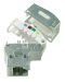 LexCom WB/DPM Modularjack RJ45 Cat6