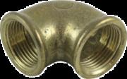 Metallrördelar Vinkel av metall inv gg. Mässing