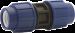 PP-PEM-KOPPLING RAK16X16 PLAST