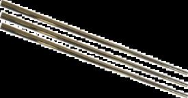 KOPPARRÖR 10X0.8 HA-LVHÅRDA 1.0 M FÖRKR.