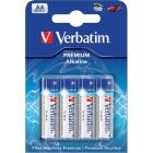 Verbatim batterier, AA(LR06)