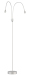 L&K Design Drop LED Golvlampadubbel