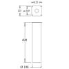 Westal Betong Adapter för 6090, 6060