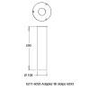 Westal Betong adapter f�r 6098, 6093