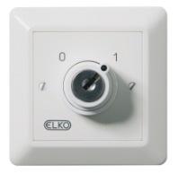 Elko RS Strömställare 2-pol med lås
