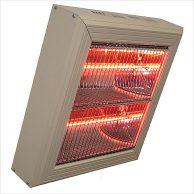 Heatlight Halogenvärmare HLQ40 Vit 2x2000W