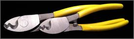 Kabelsax med skalfunktion
