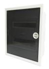 Kapsling IP40 Infälld inkl. Rökfärgad dörr