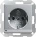GIRA 1-v�gsuttag med LED-belysning