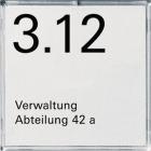 E2 | D�rrskylt/Namnskylt