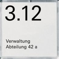 E2 | Dörrskylt/Namnskylt