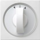 System 55 | Täckplatta med vred för tidströmställare med symbolskivor