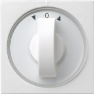 System 55   Täckplatta med vred för tidströmställare med symbolskivor