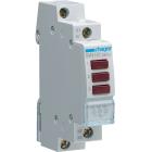 Hager Trippel LED R�d Signallampa SVN127