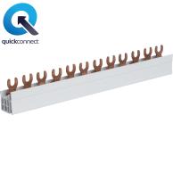Hager 3-fasskena KDN för dvärgbrytare 3-fas 10-16kV