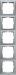 Berker S.1 Kombinationsramar Silver