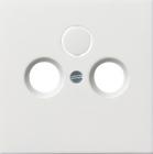 F100 | Täckplatta för koaxial-antennuttag