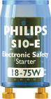 Philips Elektronisk säkerhetständare för lysrör S10E 18-75W