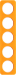 Berker R.1 Kombinationsram akryl orang/vit