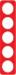 Berker R.1 kombinationsram akryl röd/vit