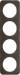 Berker R.1 Kombinationsram ek/vit