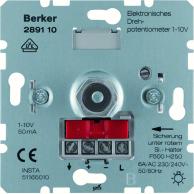 Berker 1-10V dimmer Vrid Mjukspärr