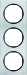 Berker R.3 Kombinationsram alu/svart