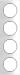 Berker R.3 Kombinationsram Plast polar-vit