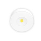 Xerolight LED Spot Slim Utanp�liggande 230V 3,3W 2700K 220lm 125� Rund Sandvit Glas