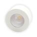 Xerolight LED Spot Maxi Utanpåliggande 230V 5W 2700K 310lm Rund Sandvit Glas