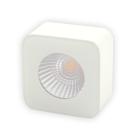Xerolight LED Spot Maxi Utanpåliggande 230V 5W 2700K 310lm Kvadratisk Sandvit Glas