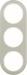 Berker R.Classic Kombinationsram Stål/Vit