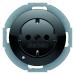 Berker R.Classic Vägguttag 1-V Jordat Med LED indikator Med Skruvanslutning