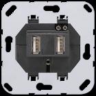 Jung USB laddstation 2 utg�ngar (521-2USB)