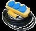 Grenuttag 3-vägs med lock H07R2-F 3G1,5