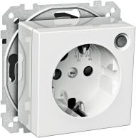 Schneider Exxact Timer med integrerat uttag