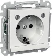 Schneider Exxact Vägguttag 1-vägs med nattljus