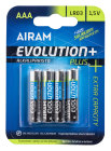 Airam AAA Batteri 4-pack Evolution+