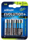 Airam AA Batteri 4-pack Evolution+