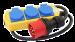 GRENUTTAG 3-V CEE 400V/SCHUKO 230