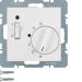 Berker S.1 Rumstermostat NC 24V