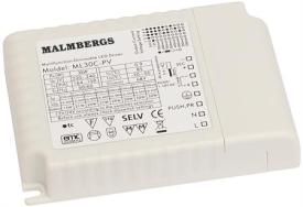 Malmbergs LED-driver 1x30W