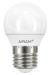 Airam LED-klotlampa 4w E27 3-pack
