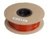 Isolerslang 4mm röd /100m