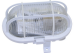GALLERARMATUR 60 W PLASTGALLER IP44 VIT / SVART