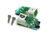 Reservkraftsomkopplare för DINslits, typ VM1